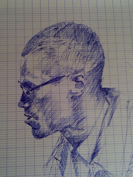 Malcolm X by Dagsart